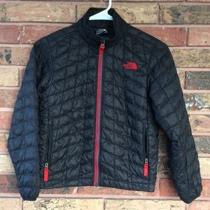 Boys NF Small 7/8  Thermoball Full Zip Jacket